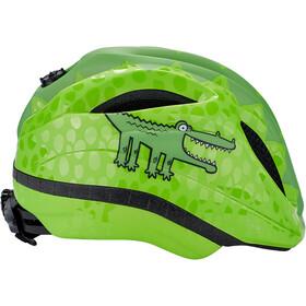 KED Meggy Trend Casque Enfant, green croco
